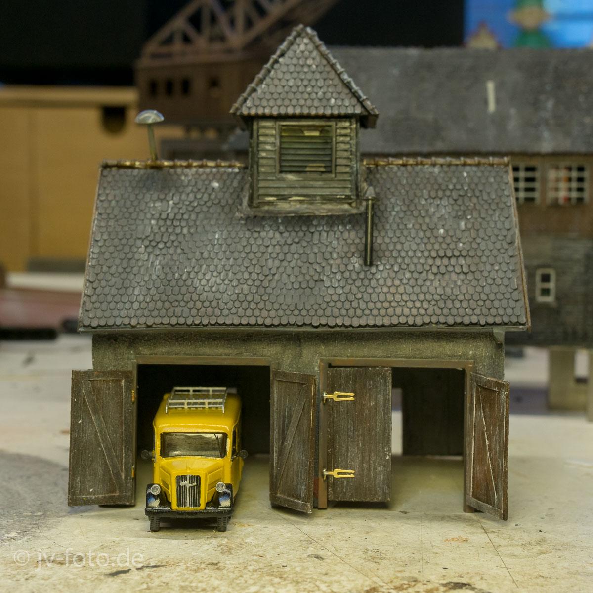 baubericht zum l ndlichen feuerwehrhaus j rgs modellbauseite. Black Bedroom Furniture Sets. Home Design Ideas